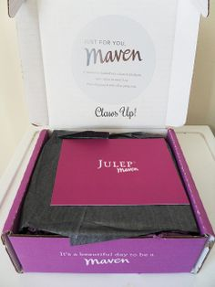 What's in my February Julep Maven box?