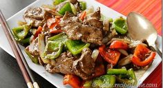 Chinese Pepper Steak Recipe - Recipes Table
