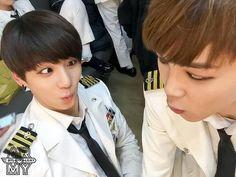 Jungkook and Jimin