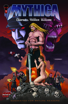 A review of Mythica #1 (2012 - CCP Comics) from Haunt of Horrors press.