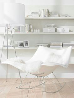 White love the chair it looks like you could just sink in to it