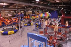 Indoor Playgrounds in Houston. Indoor trampoline parks. Indoor Family Fun. Things to do with kids in Houston.