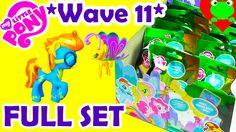 My Little Pony Wave 11 Blind Bags Full Set MLP Wave 11 Blind Bag Case