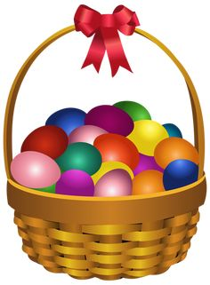 Easter Eggs in Basket Transparent PNG Clip Art Image April Easter, Easter Art, Easter Crafts, Easter Eggs, Easter Images Clip Art, Art Images, Clipart, Happy Easter Pictures Inspiration, Happy Easter Wishes