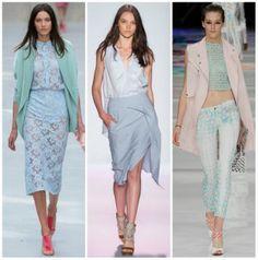 Colores pastel,  encuentra más prendas básicas para lucir en primavera aquí http://www.1001consejos.com/prendas-basicas-para-primavera/