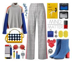 """""""Mind Over Matter"""" by vendre-du-reve ❤ liked on Polyvore featuring Monse, Acne Studios, Henri Bendel, DEMI, ZeroUV, Lipstick Queen, NARS Cosmetics, Urbanears, Casio and Børn"""