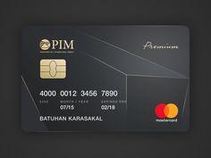 Dribbble - by Melek Ozturk Paypal Gift Card, Visa Gift Card, Minimal Business Card, Business Card Design, Wells Fargo Account, Credit Card Design, Email Template Design, Member Card, Credit Repair Services
