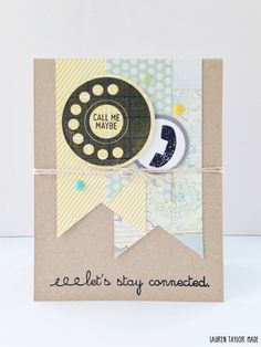 Call Me Maybe Card | laurentaylormade.com
