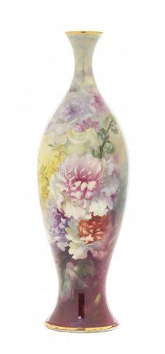 A Royal Bonn Porcelain Vase, Height 10 3/4 inches. : Lot 951