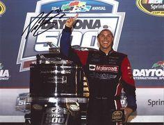 Signed Trevor Bayne Photograph - DAYTONA 500 TROPHY 11X14 COA - Autographed NASCAR Photos by Sports Memorabilia. $198.31. TREVOR BAYNE signed DAYTONA 500 TROPHY 11X14 photo with COA