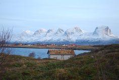 Early winter, Seven Sisters, Helgeland, Norway
