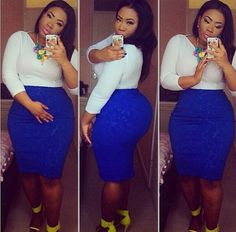 CUTE 'FIT! I love the blue skirt.