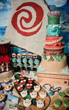 Moana Birthday Party Ideas   Photo 2 of 22