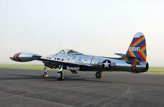 F-84 Thunderjet of the 58th FBW.