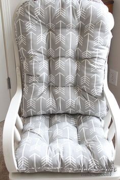 Glider Or Rocking Chair Cushions In Fabrics You Choose Are A Great Finishing Touch To The Well Dressed Nursery Any Room House After