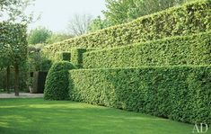 Formal Gardens with Giant Hedges | Atticmag | Kitchens, Bathrooms, Interior Design