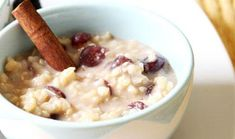 Comunitatea Desprecopii - Mobile Recipe Profile - Budinca de orez Muesli, Oatmeal, Curry, Breakfast, Food, Banana, Bulgur, The Oatmeal, Morning Coffee