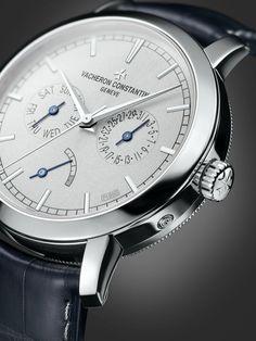 Platina é o destaque do novo relógio da Vacheron Constantin