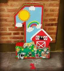 Resultado de imagen de cumpleaños infantil adornado de la granja de zenon 1st Birthday Girl Decorations, Boys First Birthday Party Ideas, Baby Boy 1st Birthday Party, Farm Animal Birthday, Birthday Themes For Boys, Farm Birthday, Farm Party, Birthday Balloons, Barbie