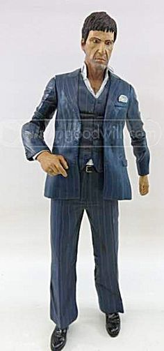 18 Inch Scarface Tony Montana Talking Figurine