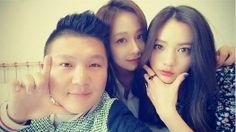 ' Roommate ' korean  variety show Jo Se Ho (Comedian) , Hong Soo Hyun (Actress) and Nana (After School / Orange Caramel) take a secla together #koreanshow