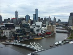 Melbourne's South Wharf, Australia.