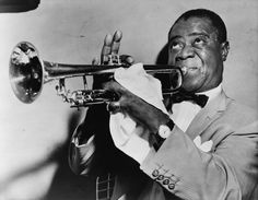 Louis Armstrong, Jazz trumpeter and singer from New Orleans, Louisiana  ♥