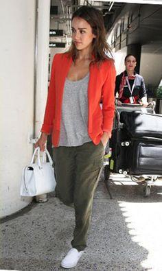 Jessica Alba wearing Sanctuary Clothing