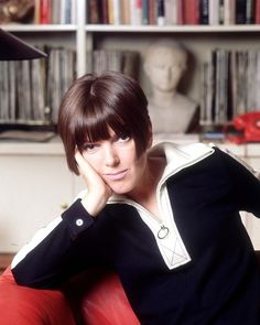 Mary Quant - A good haircut was everything - well, almost. You can't find anyone to cut hair like this now.