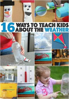 These 16 ways to teach kids about weather are fun for parents and kids alike.