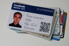 Near Future: Facebook ID card