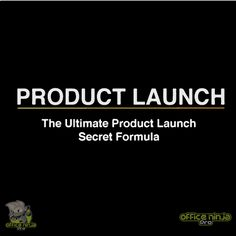 'The most value packed product launch course on the planet' A winning product launch delivers sales momentum for your company. It's one of the few opportunities to go from incremental to exponential sales. So why do so few companies get it right? It's not because they're lucky. It's because they understand how to do it right.  A product launch is more than a one time thing, you can launch the same product or bonus multiple times once you learned the system.