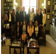 On Monday, September 22, the Justice & Law: Public Law seminar class attended Capitol Hill to meet Senator Richard Burr (R-NC).