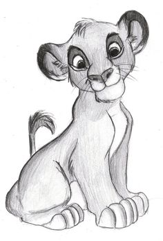 Simba # 1 Source by The post Simba # 1 appeared first on Kunex. Disney Pencil Drawings, Disney Character Drawings, Disney Drawings Sketches, Cute Disney Drawings, Art Drawings Sketches Simple, Animal Sketches, Kawaii Drawings, Cartoon Drawings, Animal Drawings