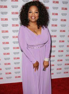 Dress A Top Heavy Body Shape Like Oprah Winfrey