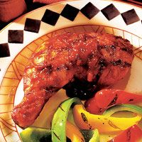 Texas-Style Barbecued Chicken Legs Recipe