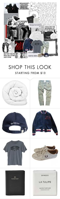 """""""just say the word, we'll take on the world just say you're hurt, we'll face the worst"""" by nemophxlist ❤ liked on Polyvore featuring Chanel, Brinkhaus, Hello Darling, Gucci, Fred Perry, FOSSIL, Byredo, men's fashion and menswear"""