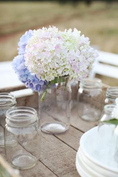 Love Mason jars as drinking glasses - not the mugs/ones with handles though