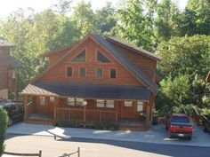 Pigeon Forge. VRBO.com #908770ha - Log Cabin with Full Resort Amenities Just a Mile from the Parkway
