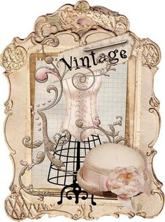 Craft Paper Illustration Free Printable 41 Ideas For 2019 Decoupage Vintage, Decoupage Paper, Vintage Diy, Vintage Labels, Vintage Ephemera, Vintage Cards, Vintage Paper, Vintage Sewing, Vintage Dress