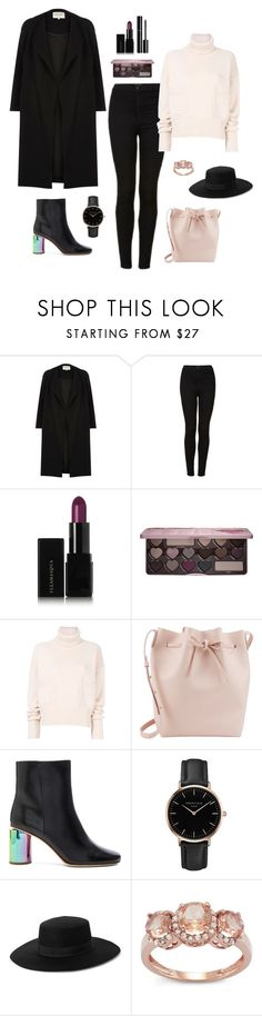 """""""Untitled #325"""" by bajka2468 ❤ liked on Polyvore featuring River Island, Topshop, Illamasqua, Chanel, Too Faced Cosmetics, Chloé, Mansur Gavriel and Acne Studios"""