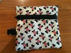 Scotty Dogs 30s Reproduction Fabric Zipper Pouch