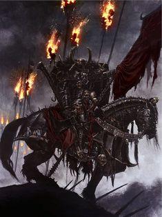 The Black Rider by ~MajesticChicken