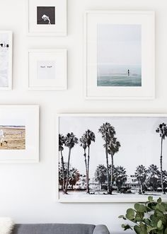 how to: printing and framing for an artful gallery wall // sarah sherman samuel Inspiration Wall, Interior Inspiration, A Frame Cabin, Metal Tree Wall Art, Photo Displays, Vintage Modern, Interior Design Living Room, Picture Frames, Wall Decor