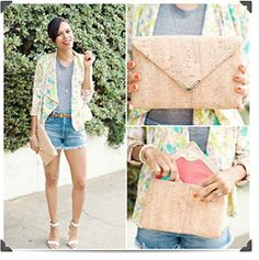 DENIM SHORTS STYLE BY POSE