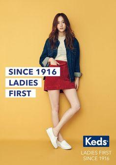 Krystal @ Keds