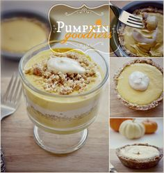 {Almost} Raw Pumpkin Pie Parfait Recipe {Raw Vegan} Gluten, egg, refined sugar, and dairy-free Makes 2 parfaits For the pie crust crumbles:
