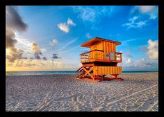 Miami Beach guardhouse