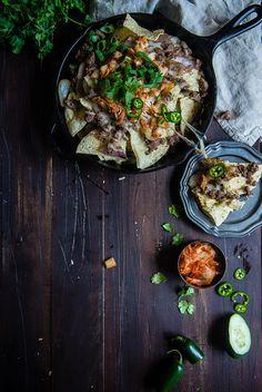 Kimchi Bulgogi Nachos (recipe) / by Two Red Bowls