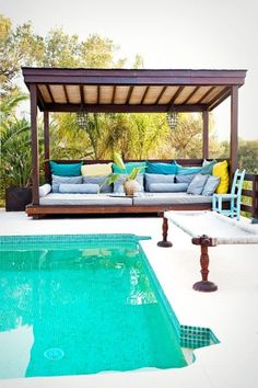 8 Attentive Clever Tips: Terrace Canopy Outdoor Tables roof canopy design.Outdoor Canopy Boho canopy over bed. Backyard Shade, Backyard Canopy, Canopy Outdoor, Backyard Patio, Outdoor Decor, Deck Canopy, Tree Canopy, Canopy Over Bed, Kids Canopy